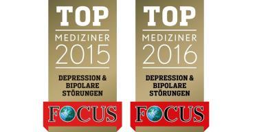 FOCUS Auszeichnung im sechsten Jahr in Folge