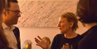 Dagmar Manzel zu Gast beim Fliedner Salon