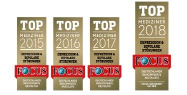 Erneute Auszeichnung: <br>FOCUS TOP-Mediziner