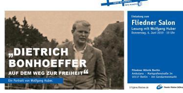 Fliedner Salon mit Wolfgang Huber
